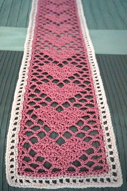 Sweetheart Lace Scarf by Adrienne Lash