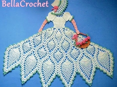 Free Pattern Brilliant Vintage Floral Doily Youll Want To Keep For