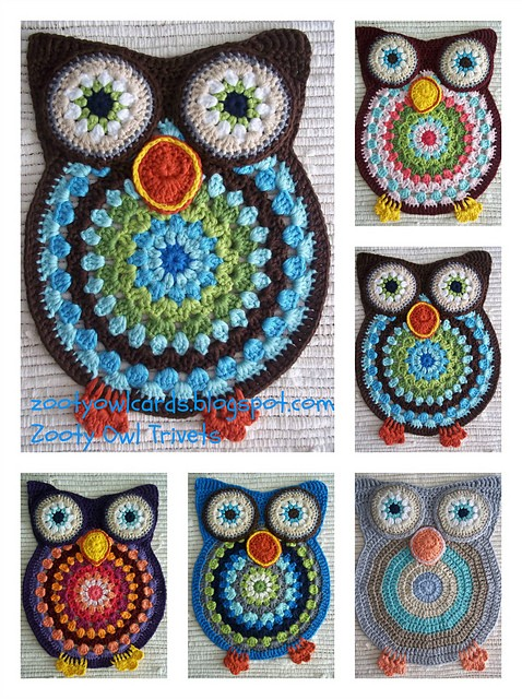[Free Pattern] This Darling Owl Is Almost Too Pretty (And Cute!) To Put Anything On