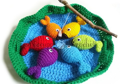 Free Pattern Super Fun And Delightful Fishing Game Your Kids Will