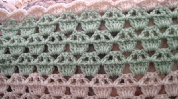 Video Tutorial] Learn A New Crochet Stitch: The Cupcake Stitch ...