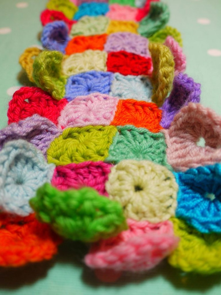 Crochet Join Stitch : ... Join Granny Squares: Invisible Stitch Join Method - Knit And Crochet