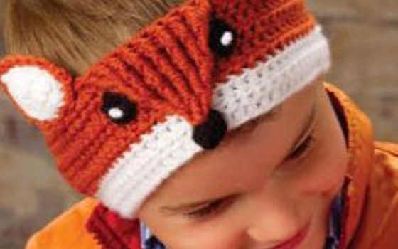 Free Pattern Fantastic Crochet Fox Headband For You To Make Knit And Crochet Daily
