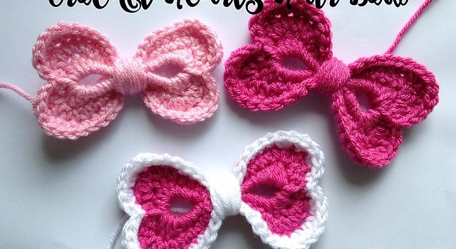 Free Pattern Amazingly Cute Hearts Hair Bow That Feels