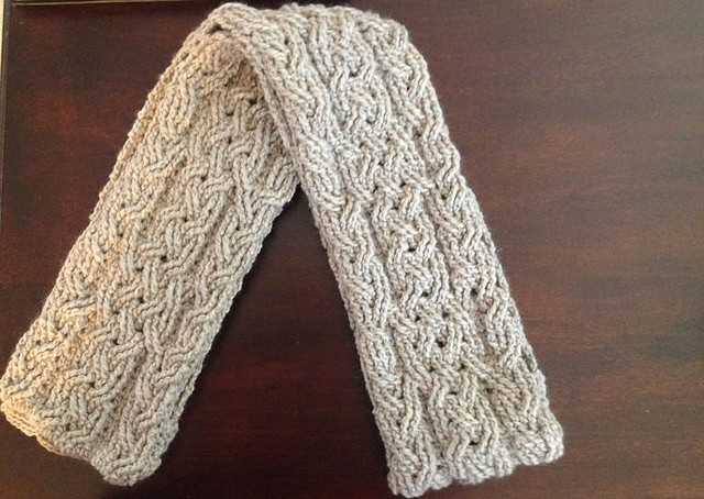 Milan Cable Scarf by Noelle Stiles