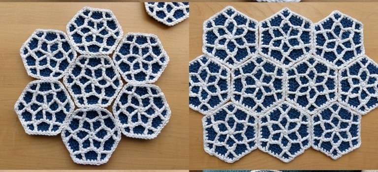 Free Pattern This Moroccan Hexagon Motif Is Amazing Knit And