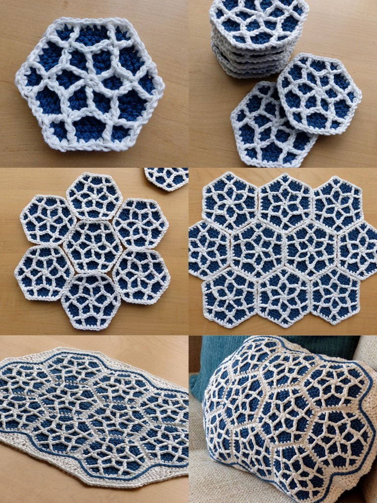 [Free Pattern] This Moroccan Hexagon Motif Is Amazing ...