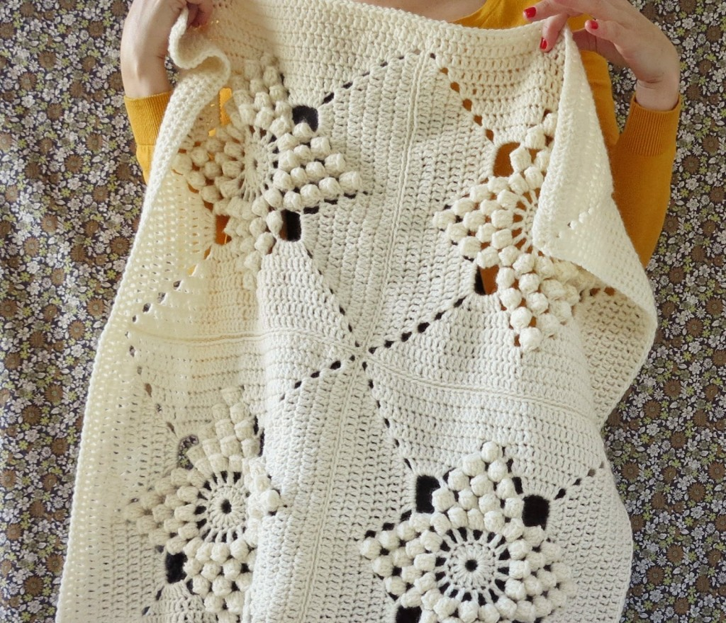 [Free Pattern] This Simply Stunning Vintage Blanket Pattern Will Make You Fall In Love Instantly