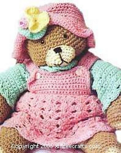 Teddy Bear by Kathy Wilson of Grandmas Hookery