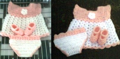 [Free Pattern] This Newborn Set Is Adorable! You Won't Believe How Quickly It Works Up!