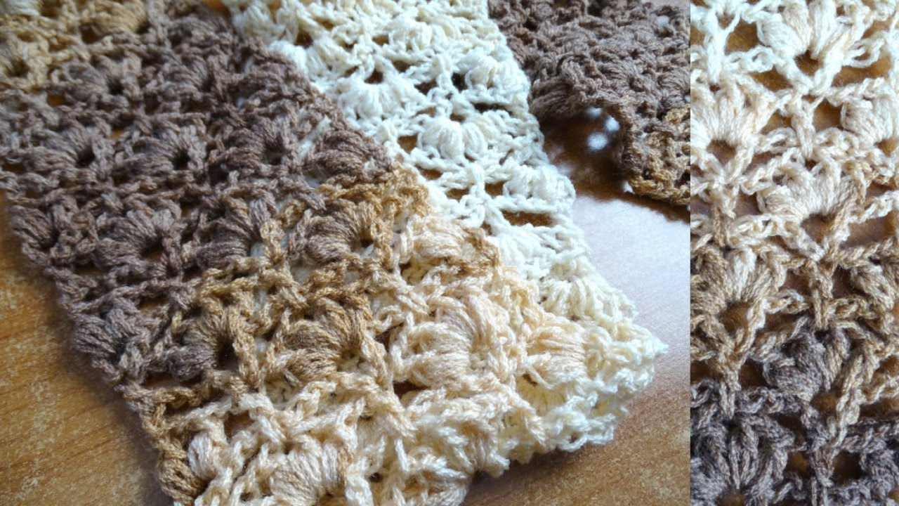 [Video Tutorial] Learn A New Crochet Stitch: Winsome Stitch - Knit And Croche...