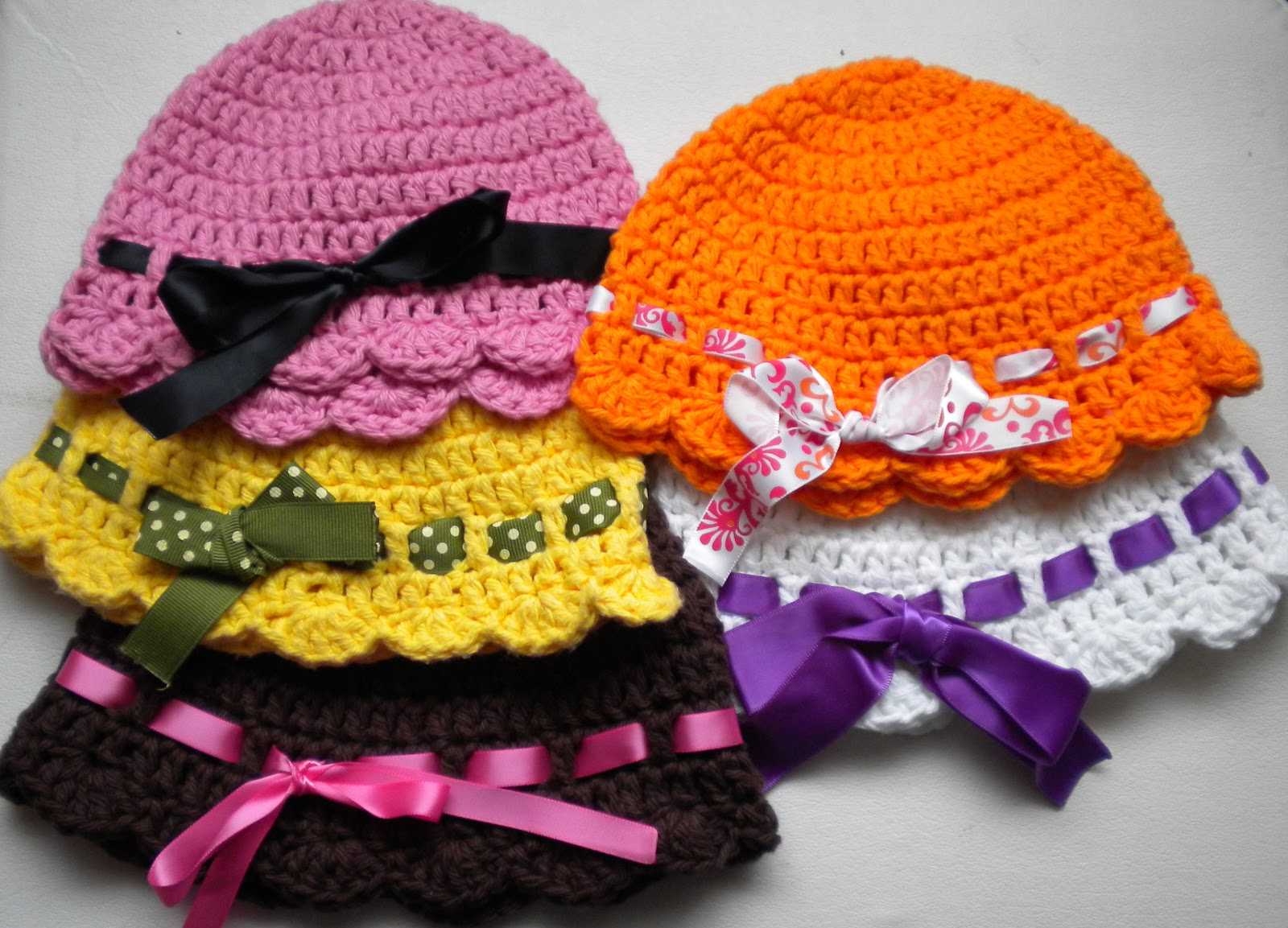 Free Pattern This Quick And Easy Baby Flapper Girl Hat
