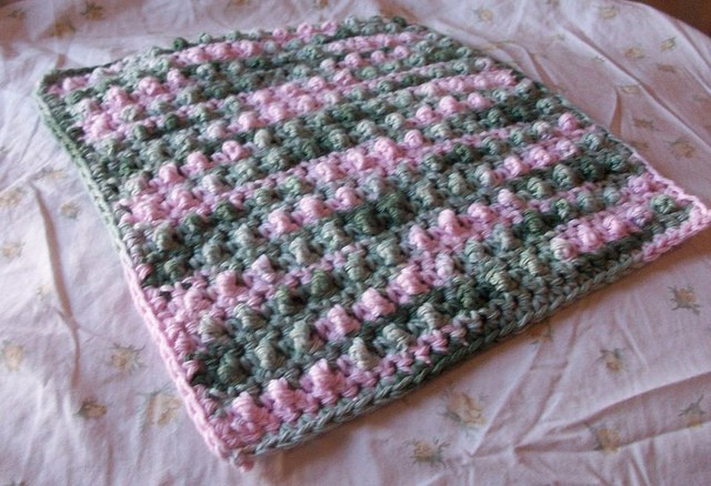 [Free Pattern] This Bubble Dishcloth Is Super Quick To Work Up And The Texture Is Awesome