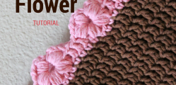 [Photo Tutorial] This Puff Flower Stitch Is Perfect For An Edging Or Border