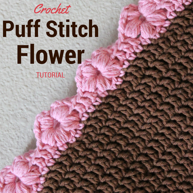 Crochet Stitches Edges : Check out the original source for this Puff Flower Stitch pattern with ...