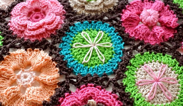 Photo Tutorial Stunning Crochet Flower Motifs For Blanket Knit