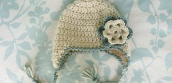 [Free Pattern] This Precious Earflap Hat Is So Easy And Fast To Make, You Won't Believe It!