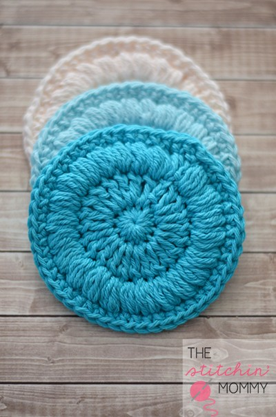 [Free Pattern] Every Woman Needs Some Great Face Scrubbies