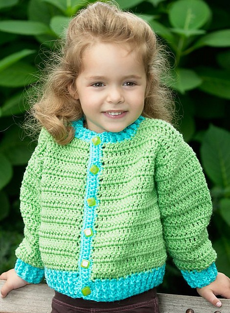 [Free Pattern] Super Cool Fun Time Cardigan That You And Your Little One Will Love