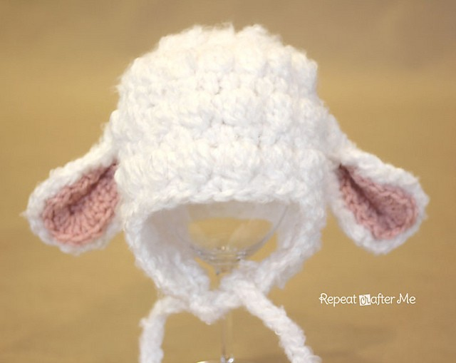 [Free Pattern] This Easy And Irresistibly Cute Lamb Hat Is Completely Perfect For Spring