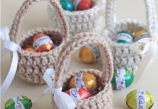 Photo tutorial these adorable mini easter eggs baskets are great photo tutorial these adorable mini easter eggs baskets are great gifts to surprise the little ones negle Image collections