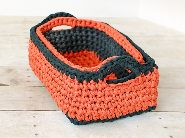 [Free Pattern] Beautifully Organize Your Space With These Rectangular Nesting Baskets ( Two Sizes Available)