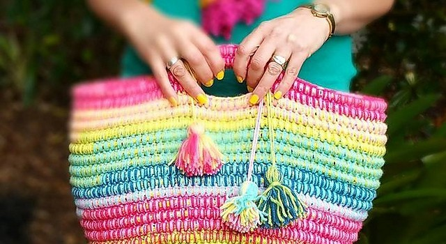 Free Pattern Stunning And Multifunctional Crochet Basket With