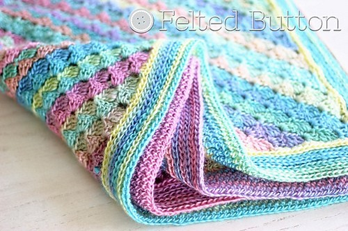 [Free Pattern] Easy And Lovely Spring Into Summer Baby Blanket