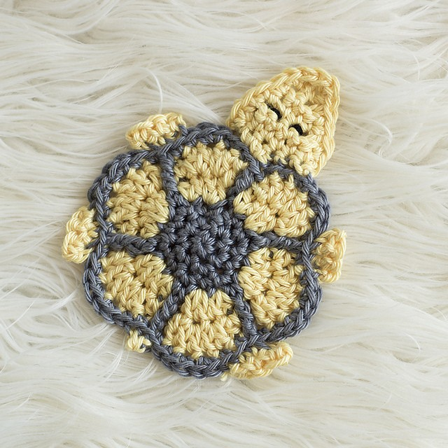 Turtle Coaster ~ Crochet Version by Melody Rogers