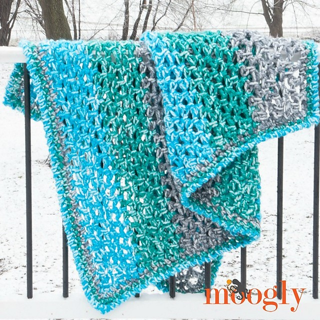 [Free Pattern] Stretchy, Soft & Cozy - This Is The Fastest Afghan You'll Ever Make!
