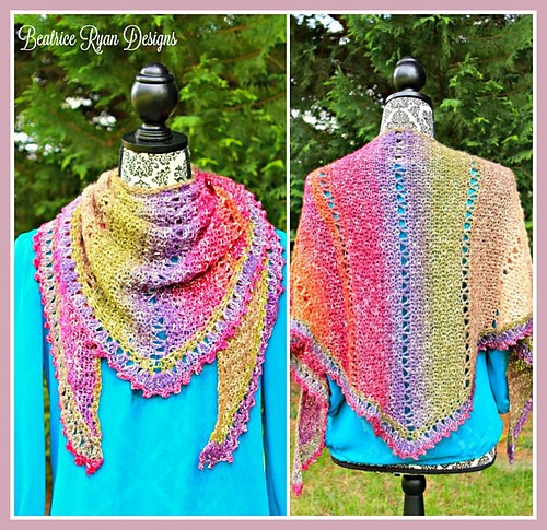 [Free Pattern] This Lightweight Scarf Is Perfect For Adding An Extra Bit Of Color To A Spring Outfit