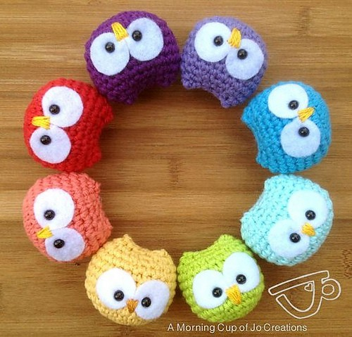 [Free Pattern] These Super Easy And Adorably Cute Baby Owl Ornaments Are Perfect Party Favors For Any Occasion