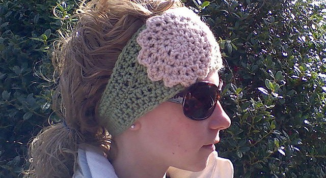 Free Pattern This Super Cute Crochet Headwrap Is A Wonderful