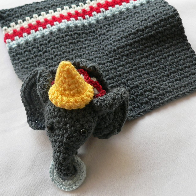 [Free Pattern] This Cute And Adorable Elephant Lovie Will Make Any Kid Happy