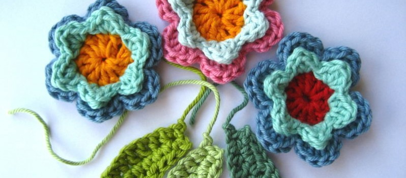 Free Pattern Amazingly Beautiful And Simple Crochet Flowers And
