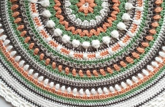 Free Pattern] Stunningly Beautiful Crochet Mandala Pattern Knit Fascinating Free Crochet Mandala Pattern