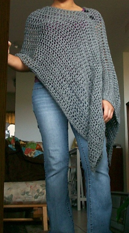 [Free Pattern] Totally Customizable And Very Versatile, This Poncho Pattern Is Brilliant