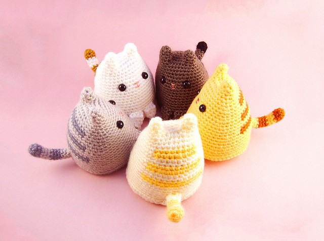 9a1ffb942 Free Pattern] This Adorable Kitty Will Make You Automatically Smile ...