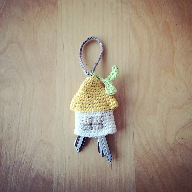 [Free Pattern] The Cutest Home For Your Keys