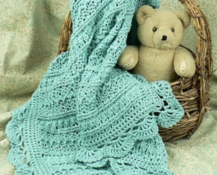 Free Pattern Adorable Pattern For Anyone In The Baby Blanket Making