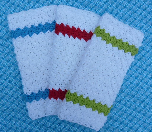 [Free Pattern] Quick, Easy And Beautiful, This Is Quite Possibly The Perfect Dishcloth Pattern