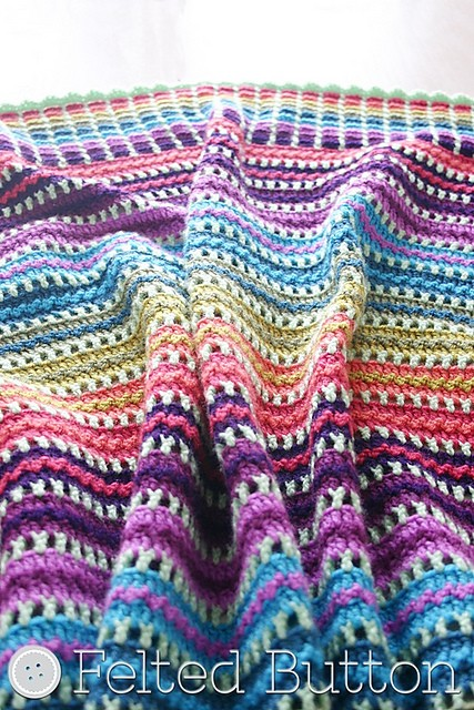 [Free Pattern] This Gorgeous And Fun Skittles Blanket Is A Party Of Color