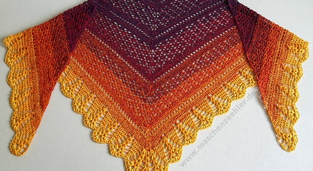 Free Pattern This Sensational Crochet Shawl Pattern Is The Perfect