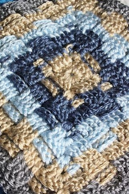 [Free Pattern] It's All About Texture! This Square Pattern Is Amazing!