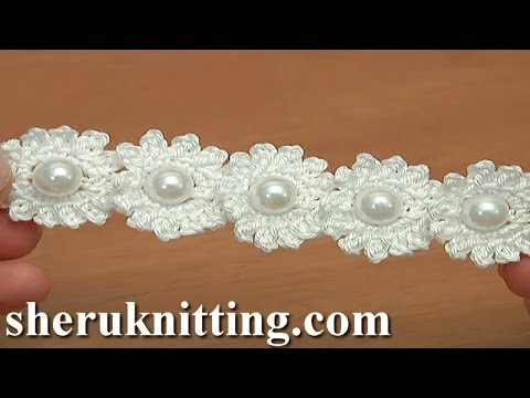 [Video Tutorial] Beautiful And Simple Crochet Mini Flower String