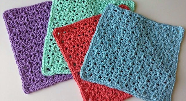 Free Pattern This Blossom Stitch Washcloth Is A Perfect Mothers