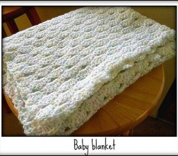 [Free Pattern] Super-Simple, Super-Easy And Completely Adorable Cascade Stitch Baby Blanket