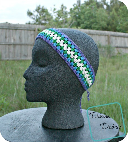 [Free Pattern] Cute Crochet Headband To Wear This Summer