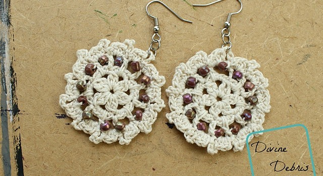 Free Pattern These Crochet Earrings Make The Perfect Gift For