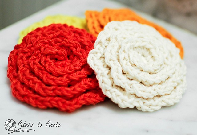 [Free Pattern] These Flower Face Cleansing Pads Are Just Perfect For The Face